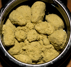 how to turn kief into oil